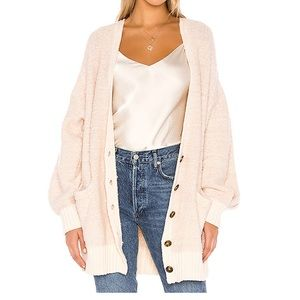 PRICE FIRM. NEW FREE PEOPLE Ivory Cardigan Small